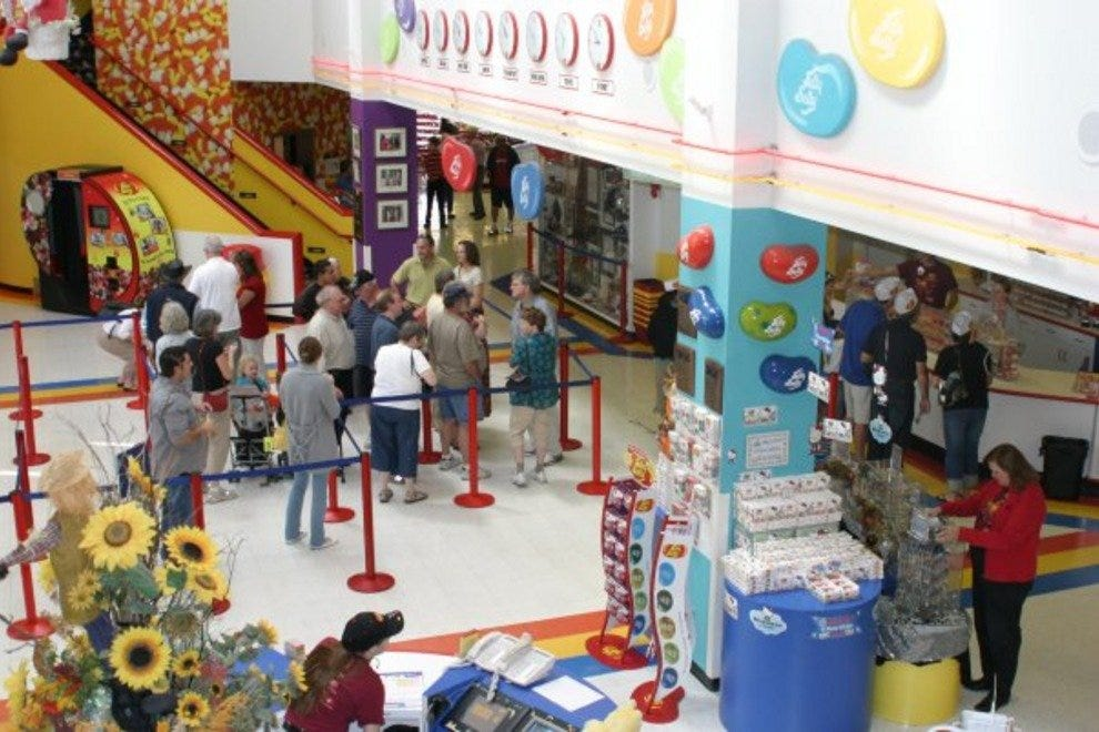 Jelly Belly's sweet factory tour