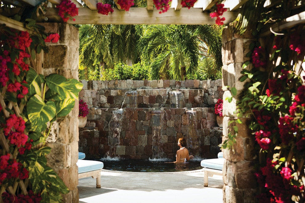 Spa at the Nevis Four Seasons