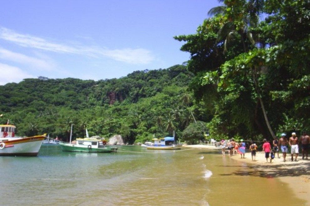 Rio de Janeiro's Costa Verde is home to hundreds of unspoilt beaches
