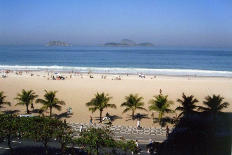 Ipanema beach should be top of any sunseeker's wishlist