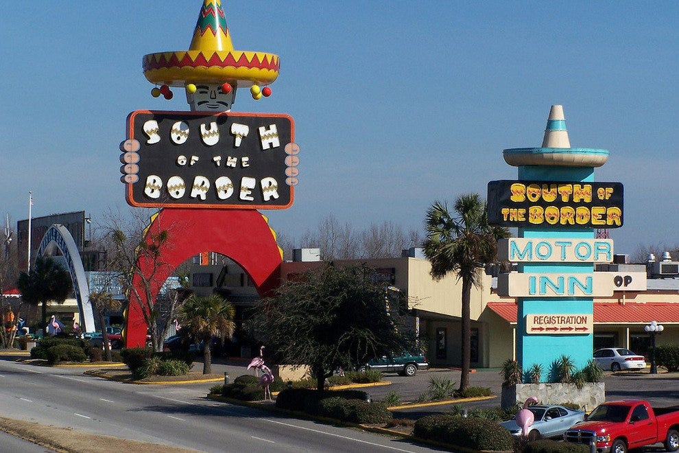 South of the Border in Dillon, South Carolina