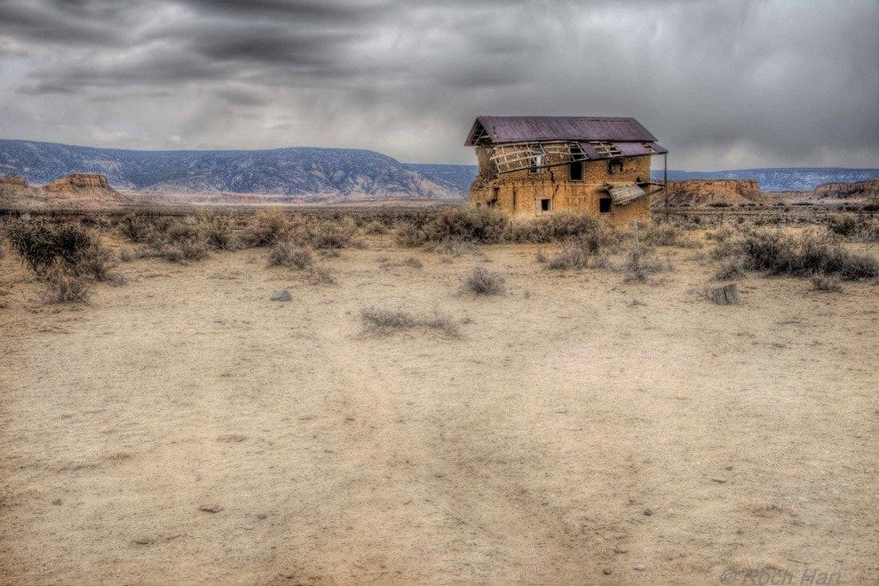 NM ghost town remnant