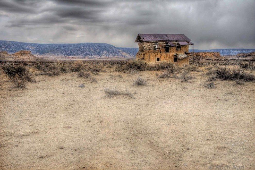新墨西哥鬼城遗迹
