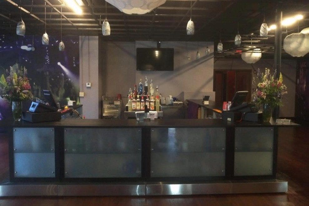 Bar at the Effex Lounge