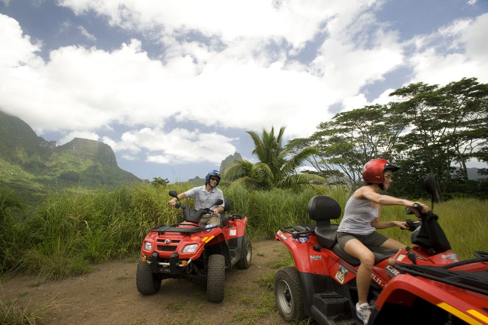 ATV Excursion in Tahiti