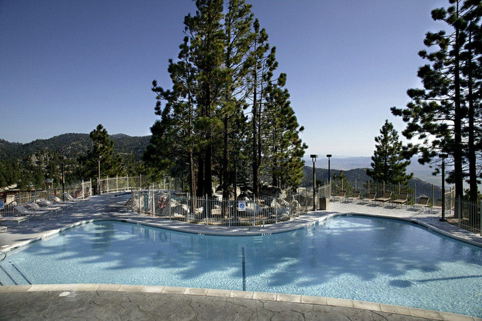 The Knoll Pool at the Ridge Tahoe Resort