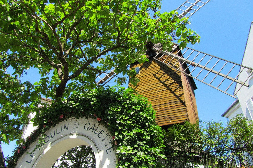 A Windmill in Montmartre