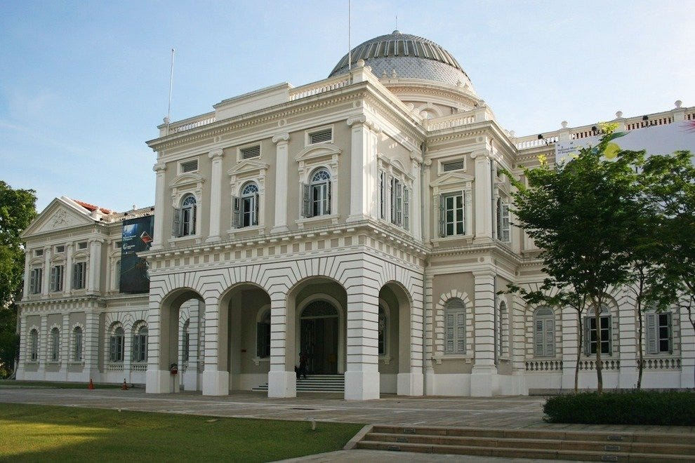 The National Museum of Singapore is Singapore's oldest and largest museum