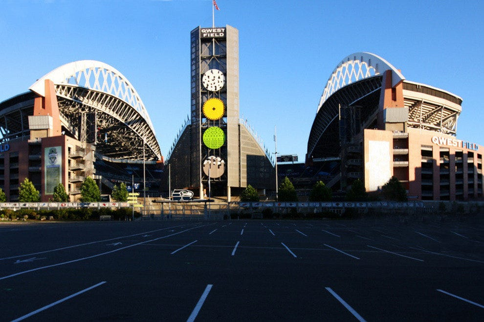 CenturyLink field when it was previously know as Qwest Field