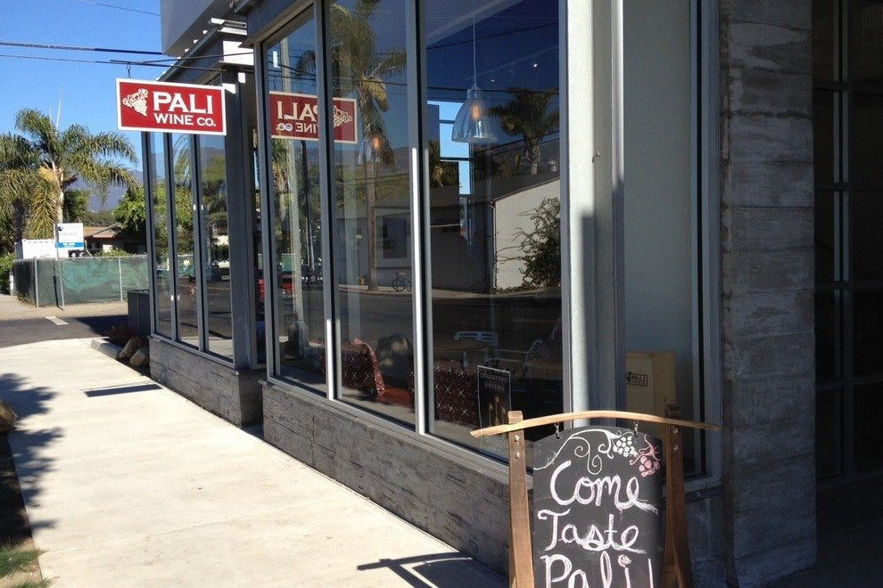 Visit the new Pali Wine Co. tasting room in Santa Barbara's Funk Zone - walking distance to downtown and the beach.