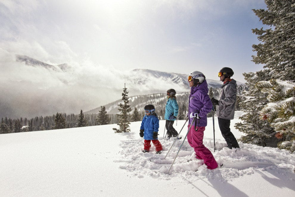 Family friendly Winter Park Ski Resort is just 67 miles from Denver.