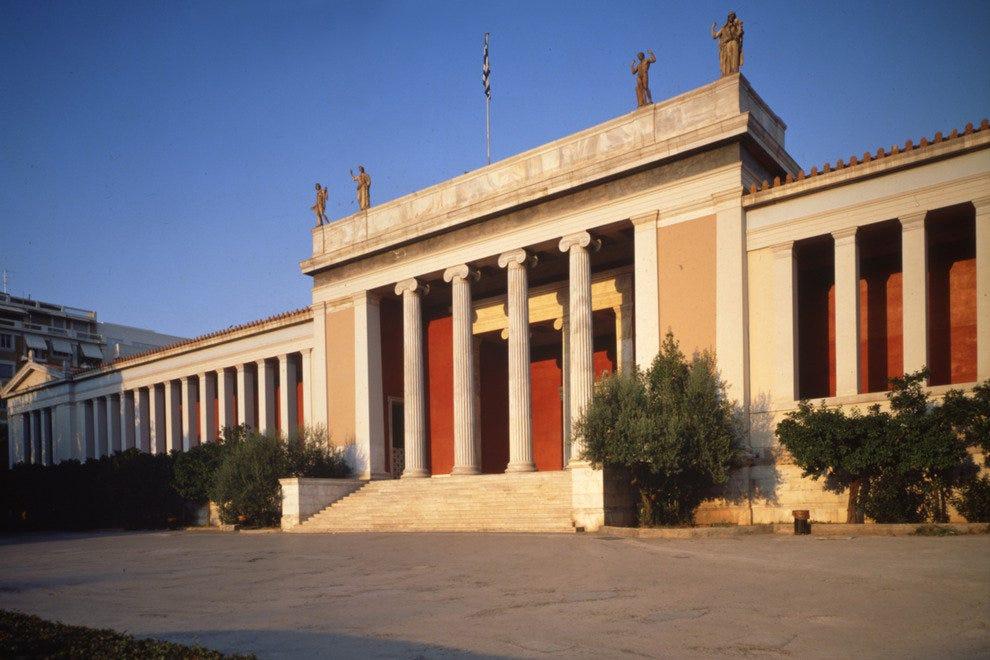 Национальный Археологический Музей Афинские музеи и достопримечательности Афинские музеи и достопримечательности p national museum 54 990x660 201404232325
