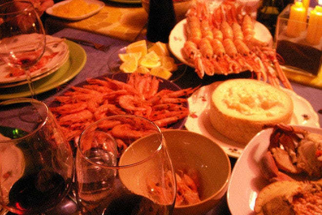 Seafood in Madrid