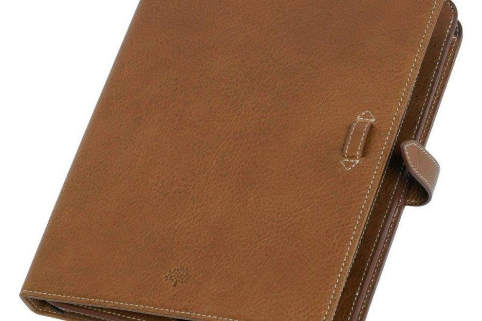 An iPad case from Mulberry