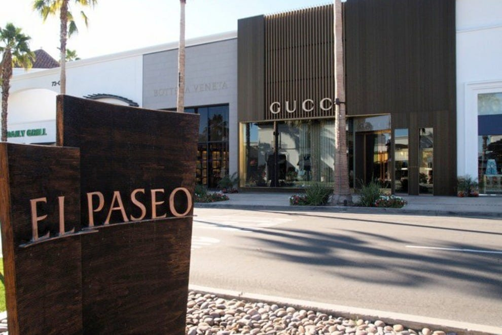 The shops on el paseo palm springs shopping review for Shopping in palm springs ca