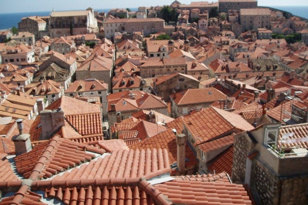 Terracotta-Colored Rooftops