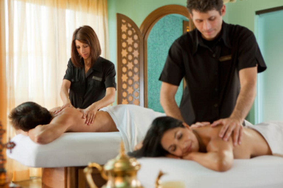 Indugle in an unforgettable couple's massage at the award-winnign Joya Spa at Montelucia Resort & Spa in Scottsdale.