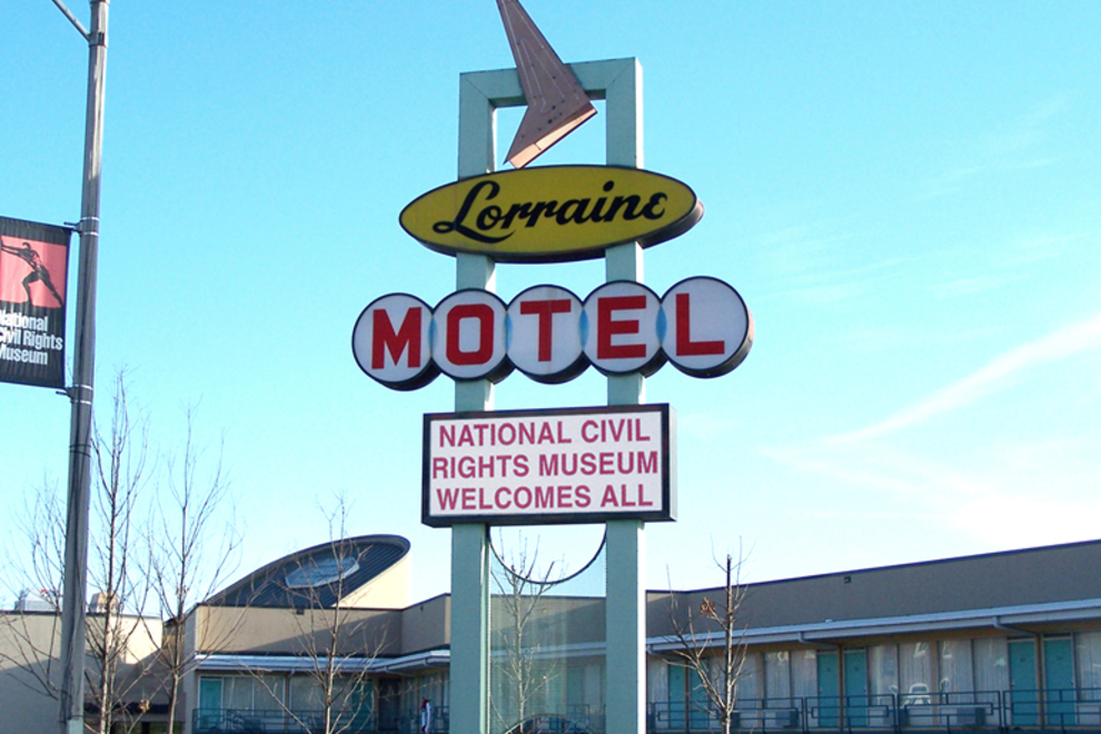 The museum complex includes the Lorraine Motel, and the boarding house from where the fatal shot was fired.