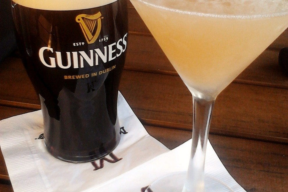 Classic to creative: Guinness and the Southern Peach Coupe cocktail.
