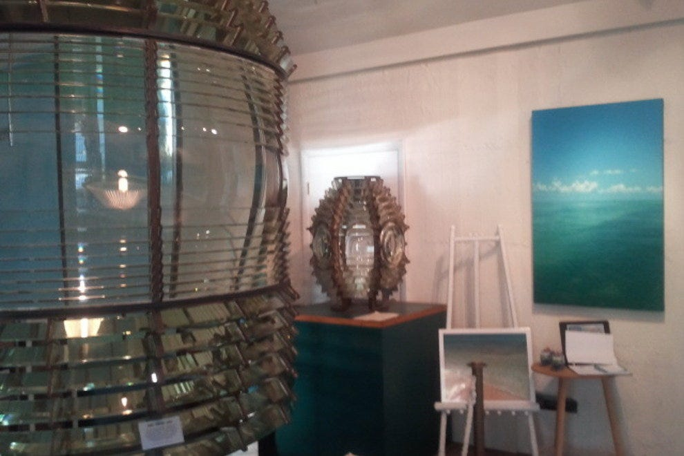 Inside the Key West Lighthouse Museum