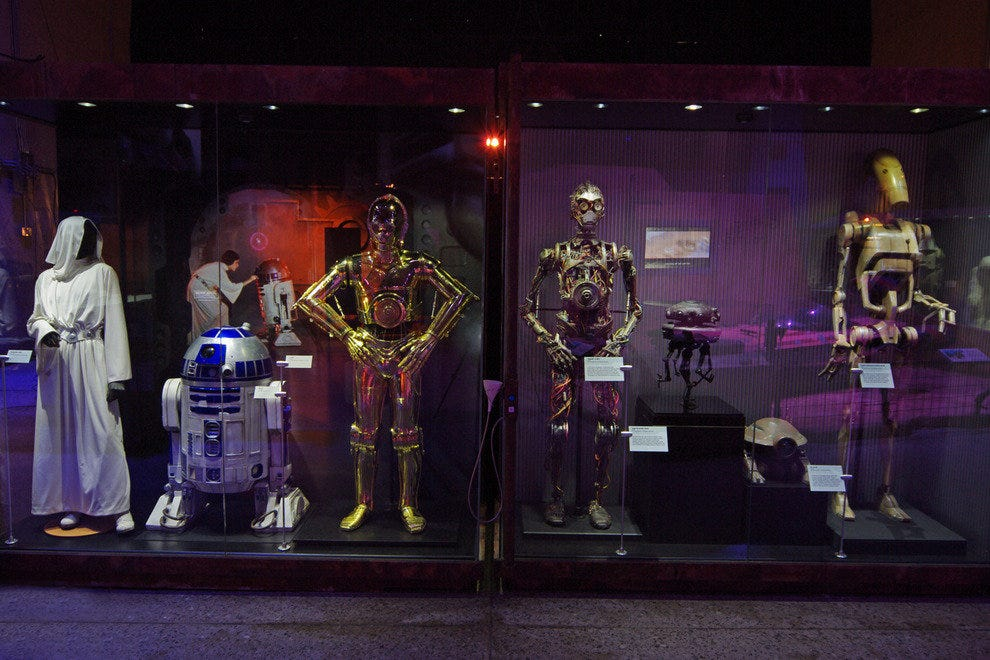 OSC's limited-run exhibit features droids for all seasons.