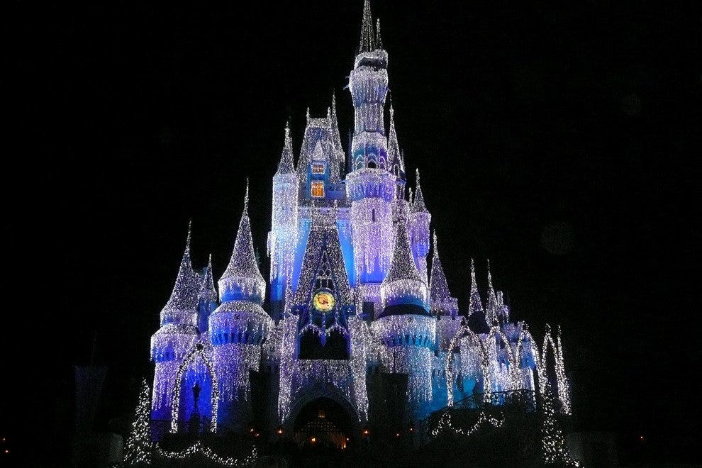 Cinderella Castle at Disney World's Magic Kingdom