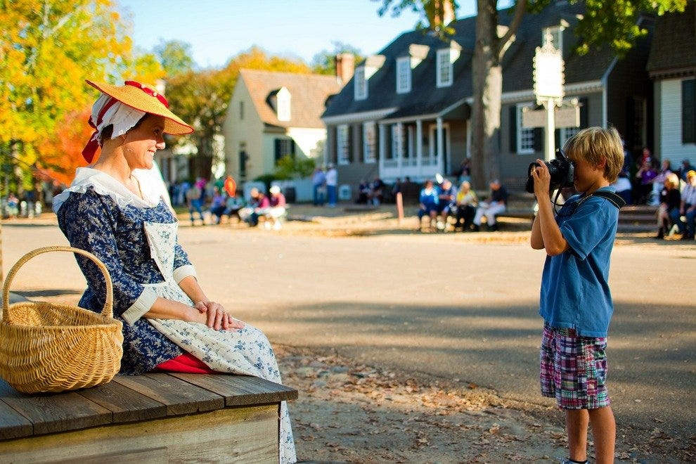 Colonial Williamsburg Kid Activities