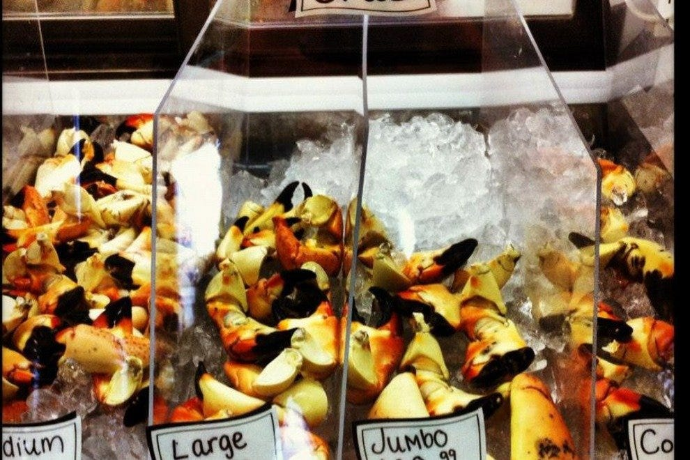 Stone Crabs in Season at Brutus Seafood