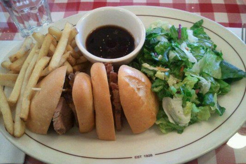 How about a nice French Dip sandwich to take the edge off?