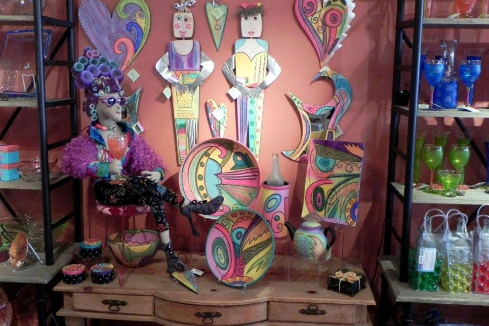 Simply Irresistible has a great selection of whimsical items for the home.