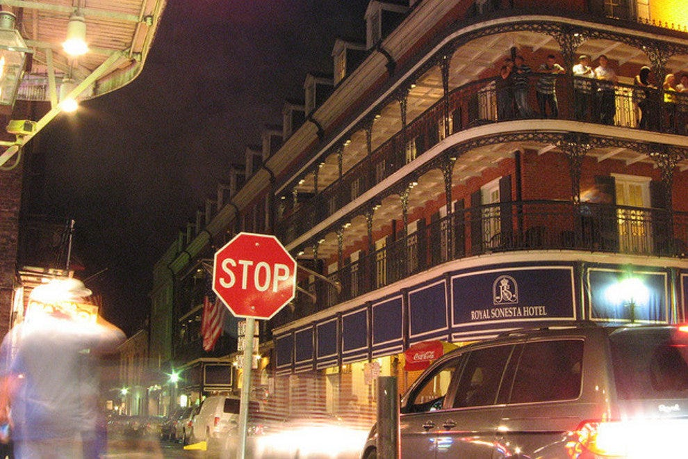 Bourbon Street, while enticing for it's late night charm, also has deep historical roots