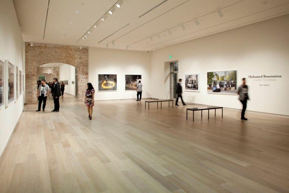 The SCAD Museum of Art hosts traveling exhibitions from around the world.