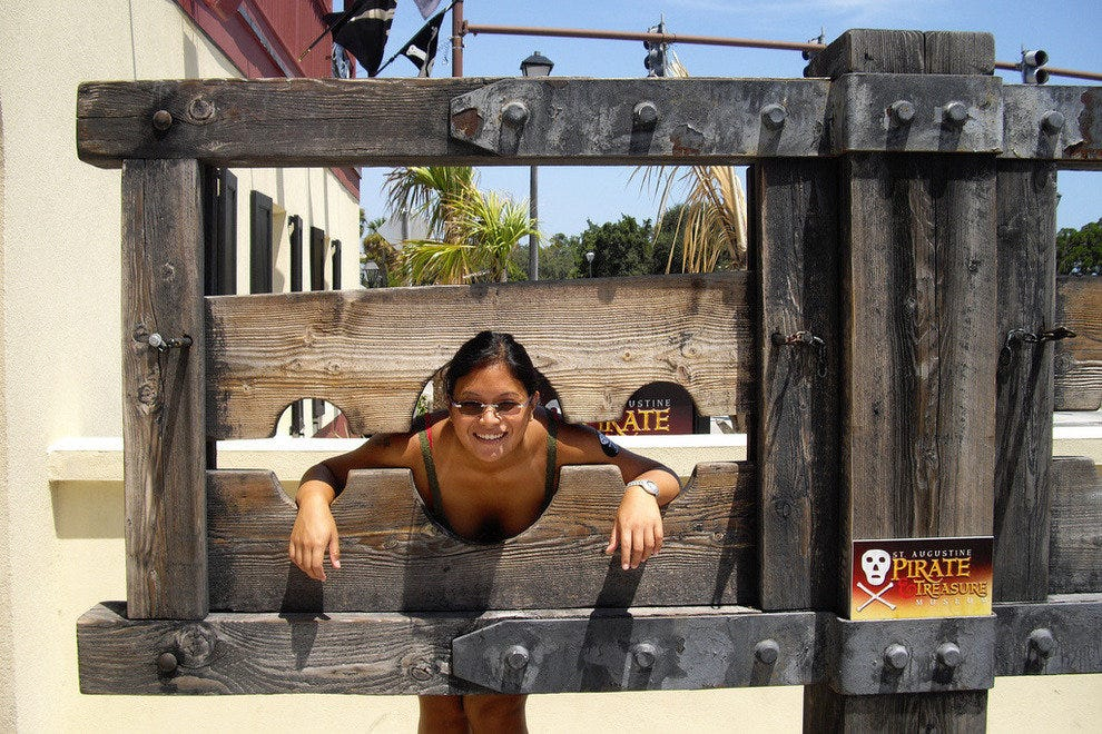 Stuck in the stockades