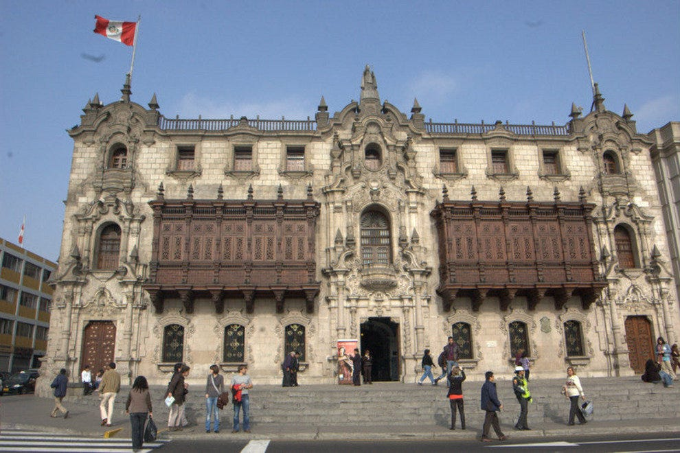 Plaza Mayor - Archbishopric's Palace