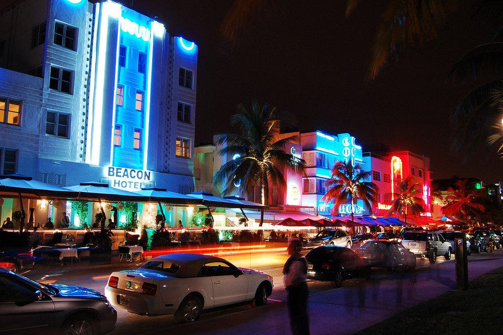South Beach at Ocean Drive