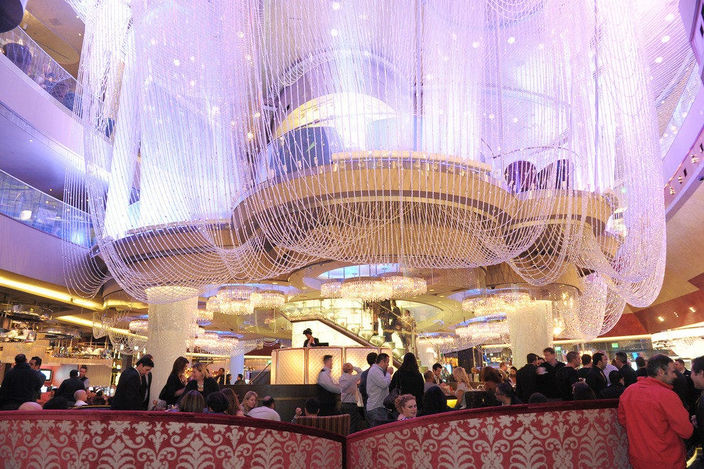 The chandelier las vegas nightlife review 10best experts and photo courtesy of the cosmopolitan of las vegas the chandelier aloadofball Gallery