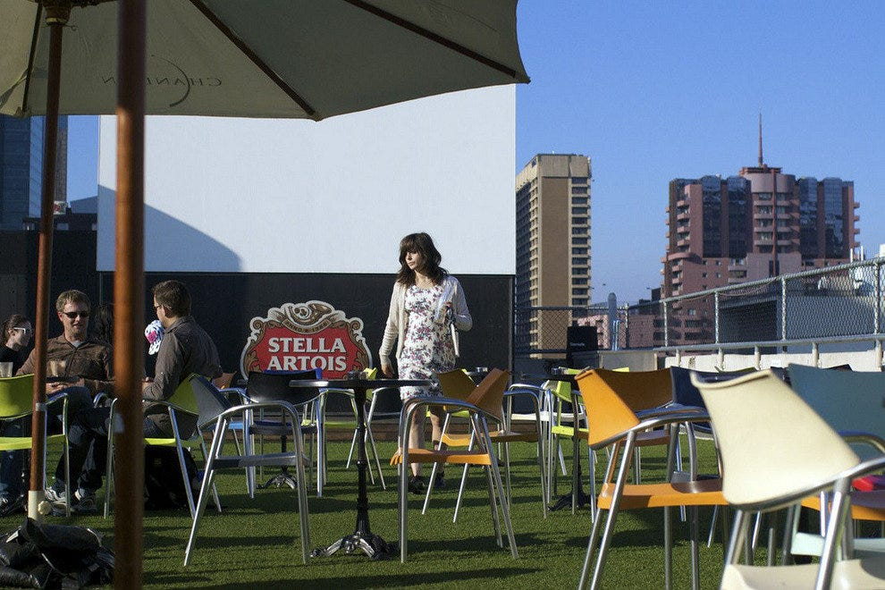 Rooftop Bar/ Cinema