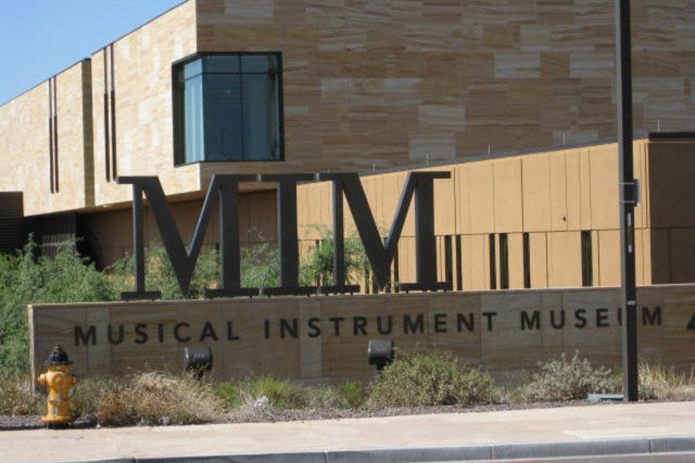 Musical Instrument Museum in Phoenix, AZ