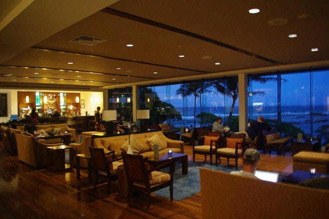 Lobby Lounge at Turtle Bay