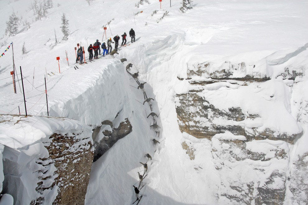 Corbet's Couloir at Jackson Hole