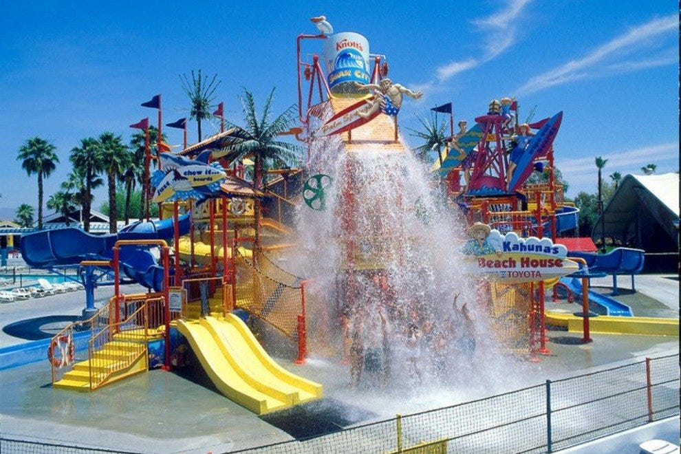 Water attraction at Knott's Soak City