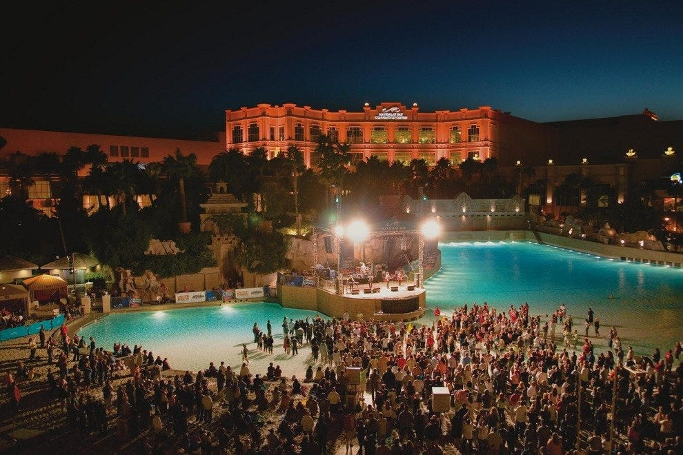 Mandalay Bay Beach's summer Beach Concert Series