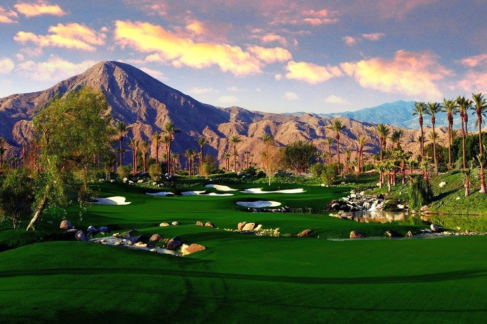 Palm Springs course