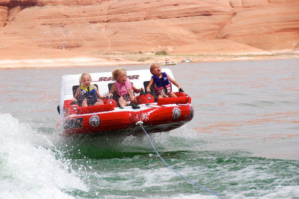 Havin' a blast at Lake Powell