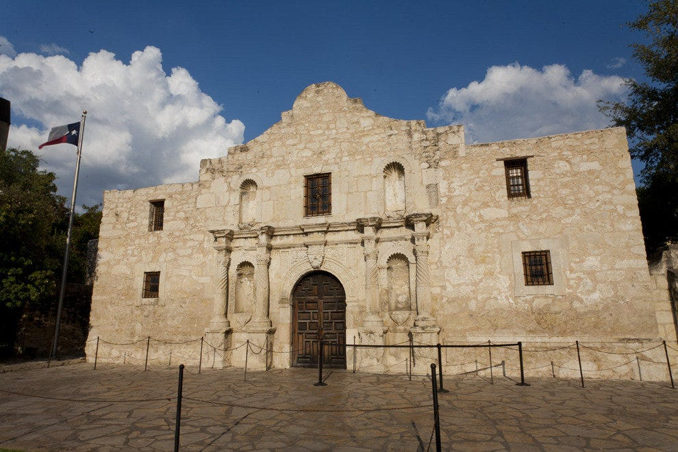 The Alamo by day