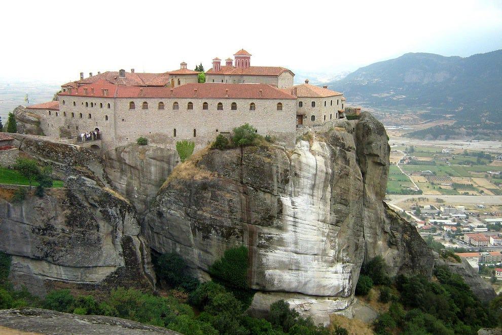 Saint Steven Abbey, Meteora, Greece