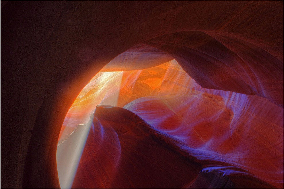 Lower Antelope Canyon in Page, Arizona