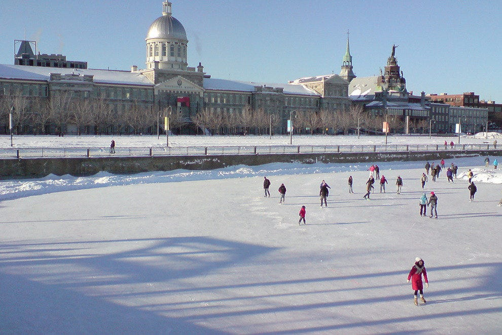Bonsecours Basin in Montreal