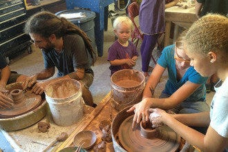 A Rastaman Potter Sets up Shop in Key West