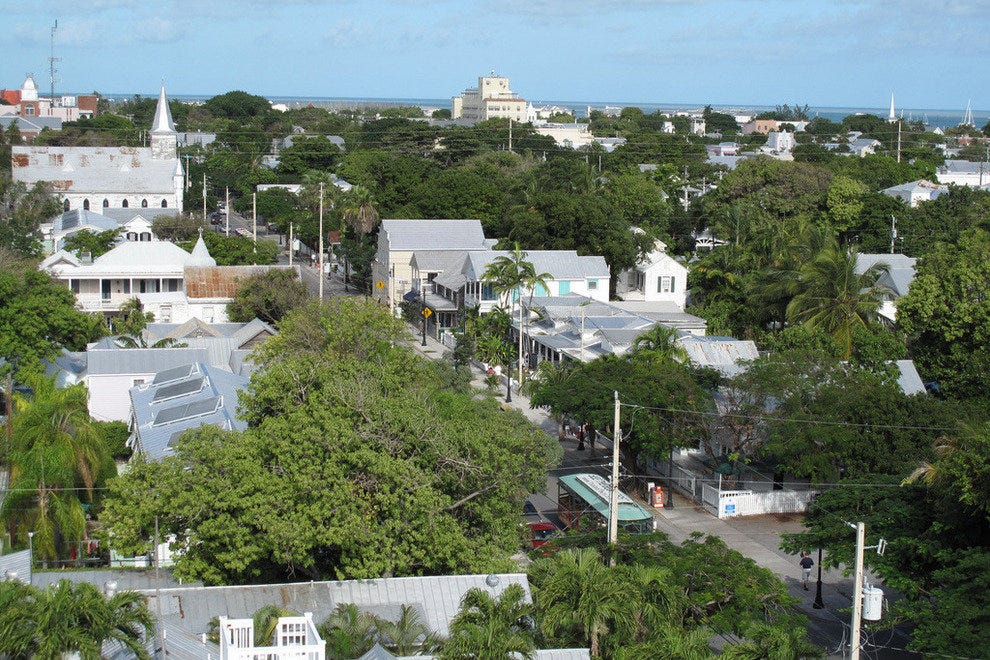 Truman Avenue in Key West